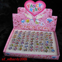 band strawberry - BOXES Pretty strawberry shortcake Girl Cartoon Fashion Ring Gift