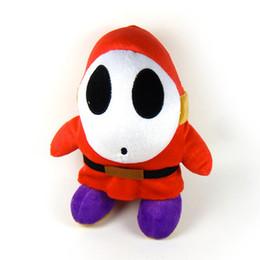 "Super Mario Shy Guy Stuffed Plush Doll Toys Animal Plush Toys 6"""