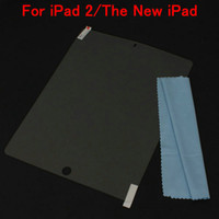 Wholesale Screen Protector For iPad The New iPad Transparent
