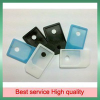Wholesale 100pcs Micro Sim Card Adapters MicroSIM for iPad G For iPhone4 with tracking num