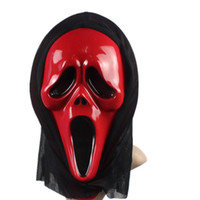 Wholesale plastic Horror ghost skull halloween masks Scream movie mask devil mask trick mask