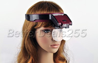 Wholesale 1 X Lens Loop Head Band VISOR Magnifier LED Magnifying Glass Loupe Handset