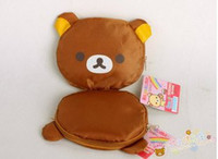 Wholesale New Rilakkuma fabric folding shopping bag Shoulder bag promotional bag
