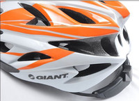 Wholesale bicycle bike cycling road racing helmet large orange and white Bike Cycling Cycle Bicycle Helmet L