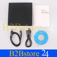Wholesale new USB Slim External DVD ROM CD RW Combo Drive Writer PCAC0112