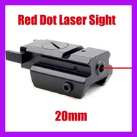 Wholesale Tactical Red Dot Laser Sight mm Picatinny Weaver Rail Mount for Pistol Gun
