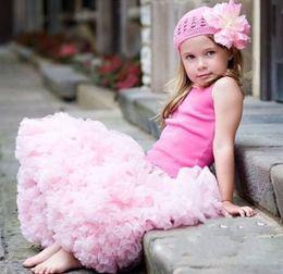 Hot! 50pcs Cute Baby Chiffon Pettiskirt TuTu Skirt Children Princess Skirts Kid's Dance Party Dress