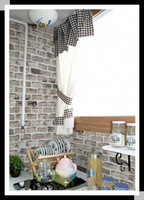 Wholesale Imitate gray brick pattern Vinyl Wallpaper self adhesive wall stickers wall paster PVC wall sticker