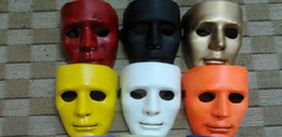 2015 20pc lot High Quality Plastic mix color Jabbawockeez Mask Hip-hop Masks Masquerade Man Mask