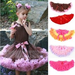 5pcs Cute Baby Chiffon Pettiskirt TuTu Skirt Children Princess Skirts Kid's Dance Party Dress