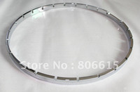 Wholesale CHROME BANJO TENSION HOOP NOTCHED FOR TENSION HOOK SPACING