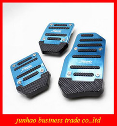 Wholesale Aluminium Alloy Car Pedal Brake Gas Pedals Pads Non slip Running Board Sports For Car With Manual