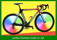 Wholesale Super great LED Light Bike Wheels Bar Spoke Bicycle Wheels lights color Promotion