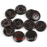 Wholesale FREE SHIP x Mixed Pattern Hole Wooden Sewing Button Scrapbooking mm