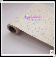 Wholesale Fashion Lavender self adhesive Wallpaper Vinyl wall stickers PVC wall paster wall sticker