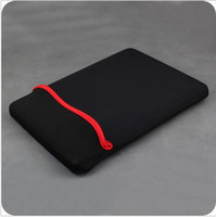 Wholesale 7 quot inch Black Red Neoprene Sleeve Bag Case For Sanei N77 N90 Deluxe Via8650 quot Flytouch Tablet PC