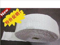 Wholesale Motorcycle modified titanium fiber insulation with banana cloth noise shock exhaust pipe insulation