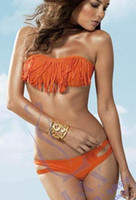 Wholesale Swimwear wear tassels crazy who are pretty new foreign trade fringed bikini Swimsuit