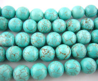 Wholesale TURQUOISE ROUND BEADS MM