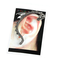 Wholesale Dragon Wrap Ear Cuff Fashion Earring Silver and Golden Colors Lead Free and Ni Free LM C018