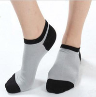 Wholesale Men s Socks Short Sox Bamboo fiber SOCKS Breathable antibacterial health Boat Socks Horsiery