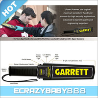 detector - High Quality Professional Portable Garrett Handheld Super Scanner Metal Detector with Retail Package