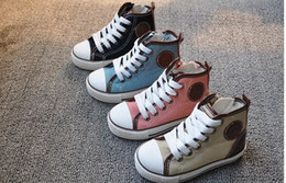 Wholesale most popular Children canvas shoes Unisex canvas shoe High Top Sport Shoes Sneakers