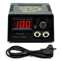 Wholesale Tattoo Power Supply LCD Digital Display for Machine Gun clip cord
