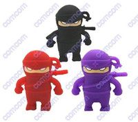 Wholesale GB GB GB Ninja robot usb flash drives memory sticks pen drives Pendrives
