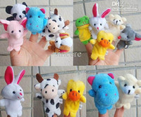 Insects Multicolor  500 pcs Children's Puzzle Baby Finger toy animal dolls Hand finger Toy puppet story-telling props