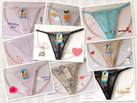 Wholesale 12Pcs Sample Link factory price lowest price women sexy underwear G String Thong M L size