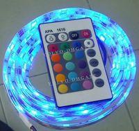 Wholesale NEW M RGB Led strip lights k A Power waterproof SMD rope light GA214