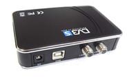 DVB-S   free shipping Digital Satellite DVB-S USB TV Tuner Receiver Dongle Box for PC Laptop