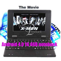 Wholesale 7 inch Via Andriod M GB Flash Camera HDMI Wifi Mini PC Netbook Laptop DHL Z2