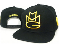 Wholesale Rick Ross MMG Maybach Music New snapback hats style men caps Behind the buckle hats snap back hat