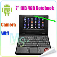 Wholesale 512M GB quot VIA8850 Android With Webcam Wifi Netbook Notebook Laptop HDMI