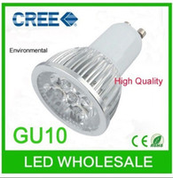 Wholesale Longevity Angle mm x mm LM Aluminum CREE W GU10 LED Lighting Led Bulbs Lamp White