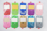 Wholesale Faceplate Keypad Case Cover Full Housing for Blackberry Curve