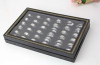 Band Rings China-Tibet Women's Rings Unisex Elegant Titanium Steel Stainless Steel Box Elegant Silve 36PCS Box Free Shipping CR-664