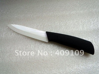 Wholesale High Quality Inch Chef Kitchen Zirconia Utility Ceramic Knife with Comfortable Black ABS Handle F