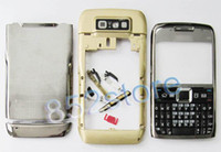 Wholesale Gold Full Housing Cover Case with Keypad for Nokia E71