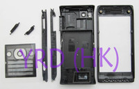 Wholesale New Black Full Housing cover case For Sony Ericsson Aino U10 U10i