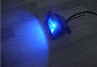 Wholesale 10W Waterproof Floodlight Landscape Lamp RGB LED Flood Light Outdoor LED Flood Lamp free ship