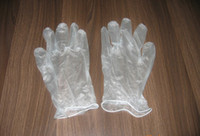 Wholesale Vinyl gloves Disposable Vinyl gloves medical PVC exam gloves oil proof gloves ID LG16
