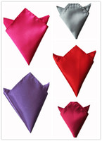 Wholesale 500pcs Pocket square silk Hankerchief kerchief mocket wedding men s pocket handkerchief snot rag