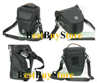 Wholesale New Black Case Bag for Nikon D5000 D90 D40 D40x D300S D3000 shipping tracking number
