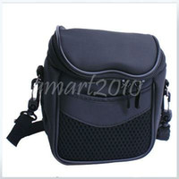 Wholesale Black Nylon Bag for Canon Powershot G6 G5 G3 G2 G1 S1 S2 Pro SX1 SX1