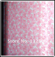 Wholesale High quality M pink flower PVC film window film Opaque decorative glass film window sticker