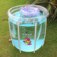 Wholesale Kids Swim Pool Hot Selling Environmental Inflatable Clear Pool For Baby Olympic Sports SFL0023