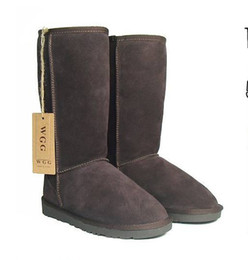 Wholesale 1pair Women s Winter snow boots WGG boot Classic Tall short baily button boots mix ordeTop Quality